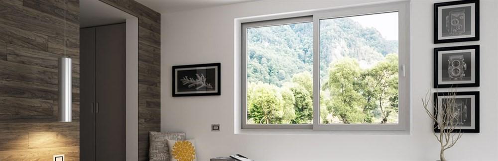 Vendita e installazione finestre e porte scorrevoli for Porte scorrevoli pvc