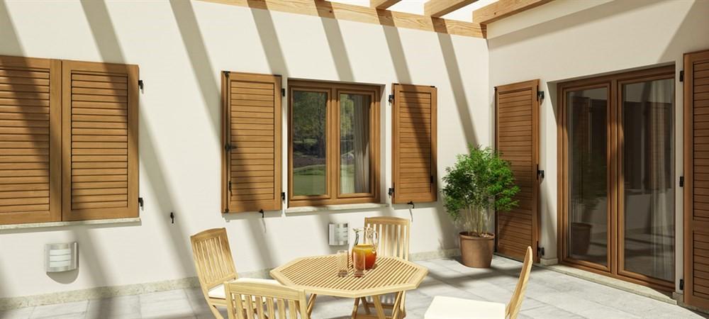 Vendita e installazione persiane blindate per porte e finestre for Finestre e persiane